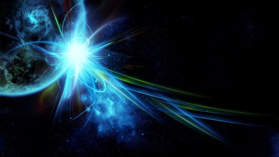 computer space quantum wallpaper